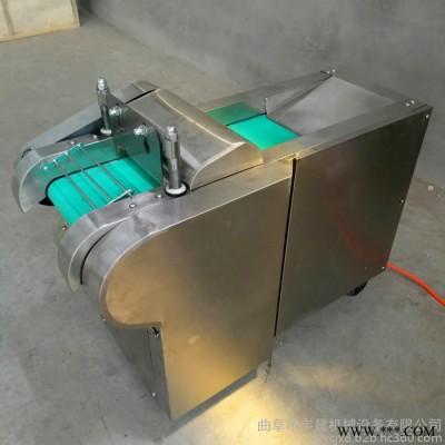 豉豆切段机大产量杏鲍菇切片机 荷叶切丝机