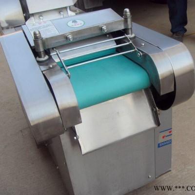 杏鲍菇切丁机 香菇切丁机厂家 多功能切菜机  海带切段机图片