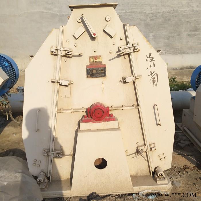 二手饲料秸秆粉碎机 75千瓦锤片式粉碎机 饲料颗粒机九成新