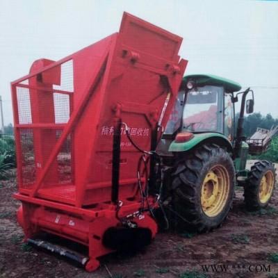 杜宇秸秆收集收割粉碎机,半自动自卸料箱秸秆粉碎机