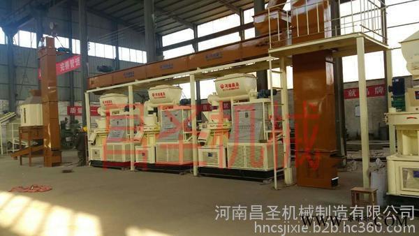 昌圣机械 秸秆燃料颗粒生产设备 秸秆颗粒机 秸秆再利用设备