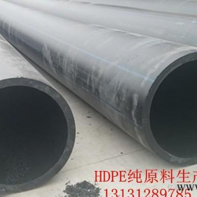 厂家生产**HDPE给水管 耐腐蚀耐磨损 .排污管 pe非开挖顶管 pe给水管 hdpe灌溉管110