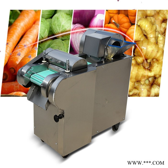 白灵菇香菇切丁机 富兴豆角蒜台切段机 土豆地瓜切片机参数