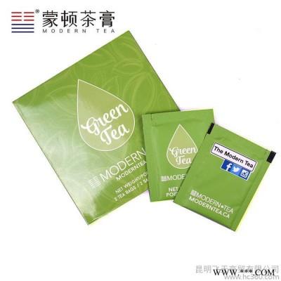 蒙顿茶膏 全溶袋泡茶 绿茶 袋泡茶 国际版