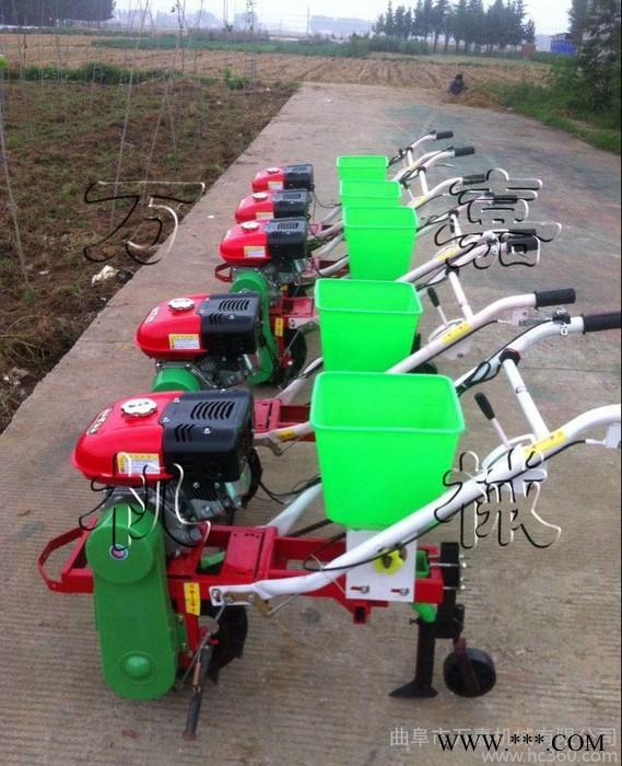 淮北 手推式豌豆播种机 小型家用花生播种机 手推新型精播机 价格