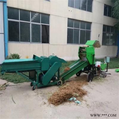 苞米杆秸秆包膜机 花生壳饲料打包机 芦苇草秸秆覆膜机 欢迎来电