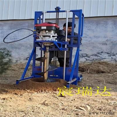 鑫农机械桩孔取土机坚固材料制作