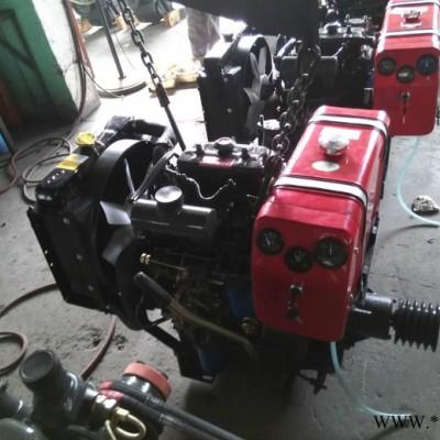 潍坊华旭ZH2110P柴油机,农机车用柴油机,双缸发动机,2110渔船柴油机 潍坊双缸机厂家