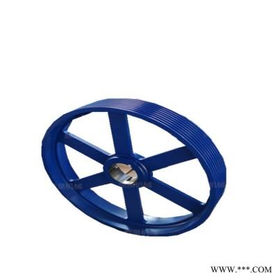 鼎泉 加厚皮带轮 铸铁皮带轮 欧标锥套皮带轮- 农机使用