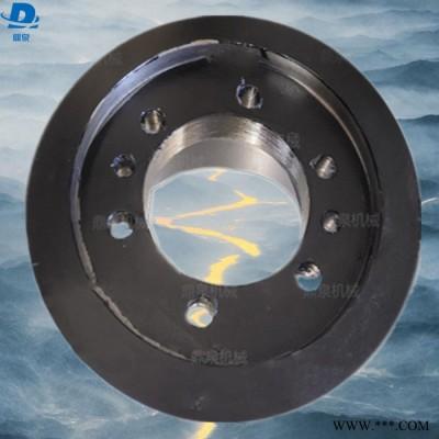 鼎泉 加厚皮带轮 铸铁皮带轮 欧标锥套皮带轮 农机使用皮带轮