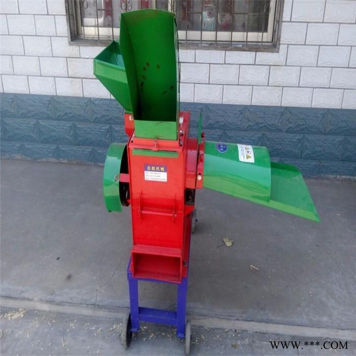 多功能小型农机铡草机 干湿两用青贮揉草机 饲料玉米铡草揉丝机