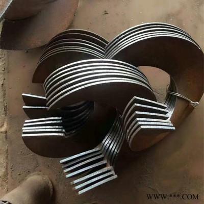 聚孚机械螺旋叶片绞龙叶片生物质炉叶片输送机械配件农机配件
