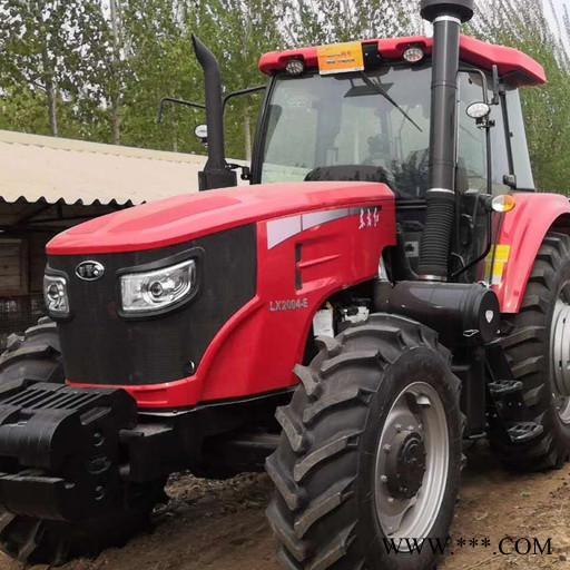 大型大马力2004 2104 2204拖拉机配套相应的农机具可完成,犁,耕,耙地,播种施肥,收割等各种田间作业