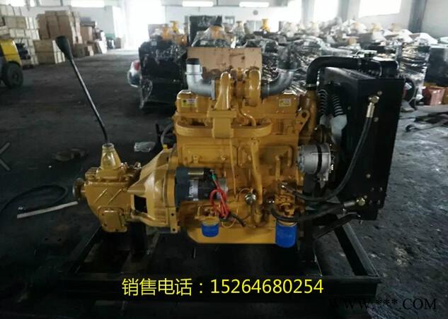 潍坊ZH4100G柴油机,带140变速箱,农机车用柴油机,铲车装载机用柴油机 潍坊4100柴油机