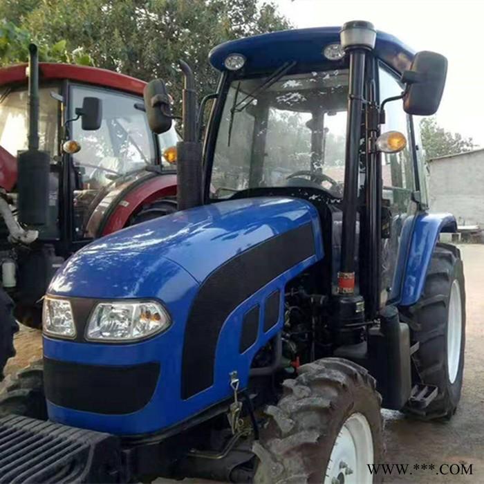 新型强动力210马力拖拉机 大型农场专用旋耕犁地农机具 东方红果园专用拖拉机
