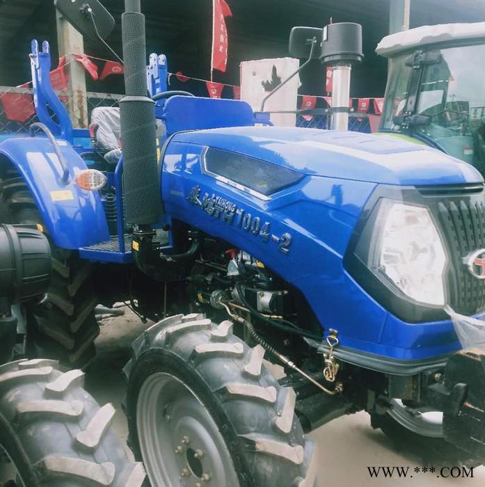 牵引力强涡轮增压**动力604 704 804 904 1004 1204拖拉机 四轮旋耕犁地机后置各种农机具