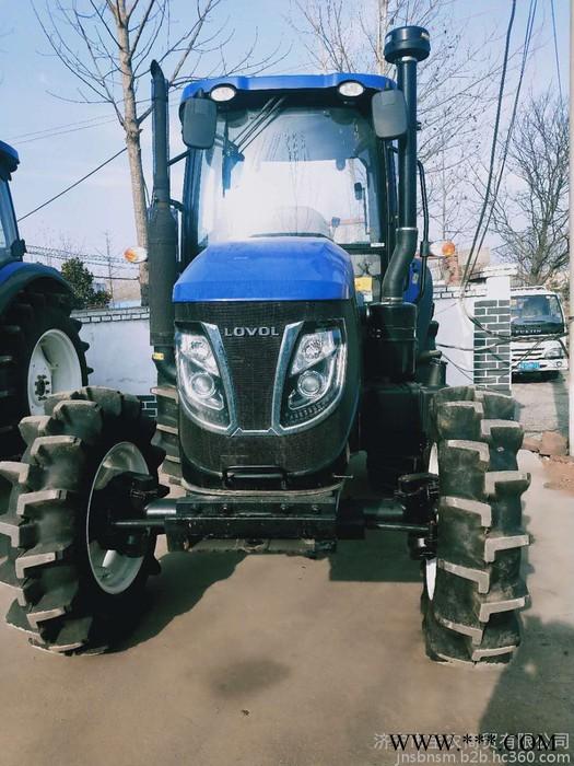 农田犁地旋耕四缸1004 1204 1404 1504 1604拖拉机 四驱四轮多缸高配拖拉机 可带各种农机具