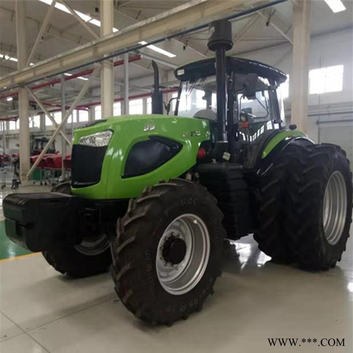 大马力四驱六缸多功能梭式换挡2004 2104 2204拖拉机 强动力深耕犁地机 可配套多种农机具