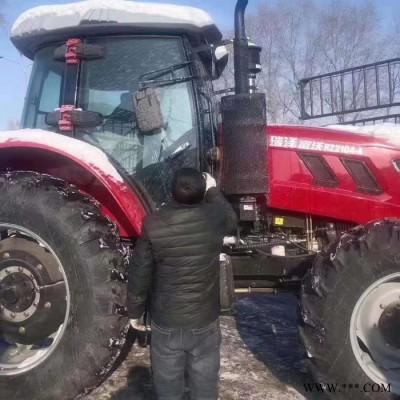 多缸四轮拖拉机农耕土壤管理机水旱田拖拉机 瑞泽2004 2104 2204潍柴动力六缸四驱大马力拖拉机 各种大型农机具