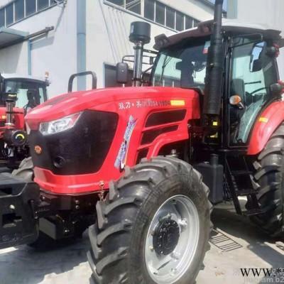 宝农农机 时风大马力2104拖拉机 四驱大马力东方红发动机 四轮农用拖拉机2104农用大型四轮拖拉机 型号齐全
