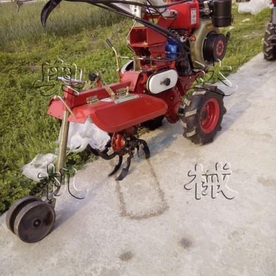 多用除草耕地机   农业花生播种开沟起垄机播种机 路肩农机