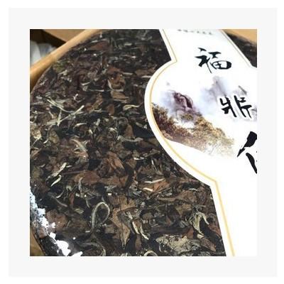 年货送礼六斤福鼎寿眉白茶饼 6斤大饼一口料大白茶饼批发厂家批发