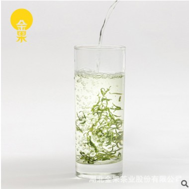 恩施金果茶业散茶叶烘青工艺送礼自喝便于携带含硒绿茶