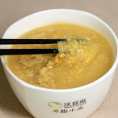 高原米脂黄小米陕北杂粮黄小米米砖5斤布袋装 五谷杂粮农家黄小米