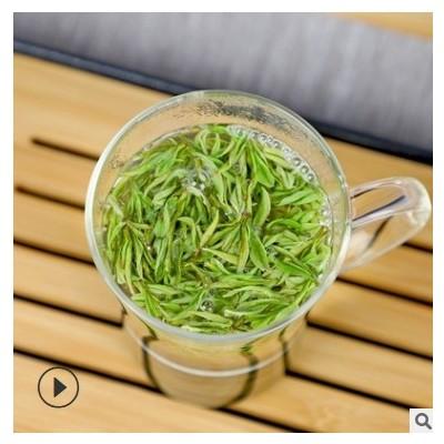 高山安吉白茶2021年新茶明前茶梅溪镇送礼佳品250g礼盒装安吉白茶