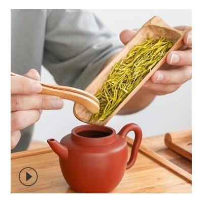 茶叶2021新茶安吉白茶茶农自炒雨前茶散装50g原产高山白茶茶叶