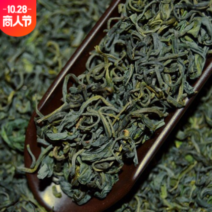 绿茶高山云雾茶松阳香茶豆香炒茶 2021春茶日照绿茶茶叶散装批发